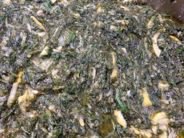 Bärlauch Zitrone Salzpaste Abfüllung